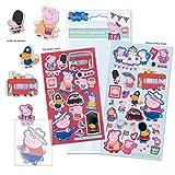 Paper Projects 01.70.31.012 - Confezione di Adesivi Assortiti Peppa Pig Glorious Britain