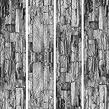 murando - PURO TAPETE selbstklebend Steinoptik 10m Wandtattoo dekorative Möbelfolie Dekorfolie Fotofolie Panel Wandaufkleber Wandposter Wandsticker - ! Steine f-A-0208-j-d