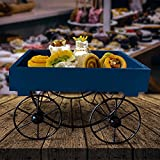 FURNISHING FACTORY Namaste Thela Trolley | Platters For Serving | Platters Wooden | Serving Platter | Serving Platters For Snacks | Serving Trays For Snacks | Servings Bowls | Snack Platter | Snacks Serving | Snaks Serving Tray | Wooden Platter | Serving