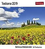 Toskana - Kalender 2019: Sehnsuchtskalender, 53 Postkarten - Fabio Muzzi
