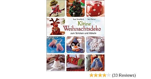 Kleine Weihnachtsdeko Zum Stricken Und Häkeln Amazonde Sue