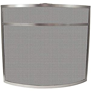 Home Discount Fire Guard, Nickel FREE DELIVERY