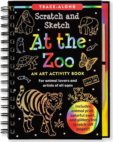 Scratch & Sketch at the Zoo (Trace-Along Scratch and Sketch)