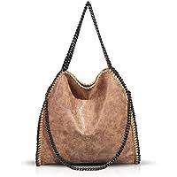 Umhängetaschen für Frauen Damen Kette Umhängetasche Kettentasche Taschen für Damen Casual Handtasche große Hobo…
