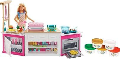 Barbie - Mutfak Dünyası (Mattel FRH73)