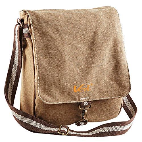 Reisetasche Freizeittasche Coole Umhängetasche Vintage Tasche Schultertasche Reportertasche mit Veri Logo
