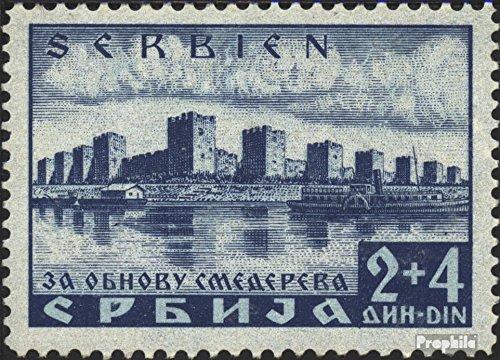 Prophila Collection Serbien (Dt.BES.2.WK.) 49 1941 Katastrophenhilfe (Briefmarken für Sammler)