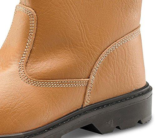 Click Workwear, Stivali uomo, marrone Tan