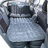 HJJH Autositz-Rücksitz-Matratze, Multifunktionsluftkissen Und Auto-Luftpumpe, Kind-Sicherheits-Schallwand Und 2 Aufblasbares Kissen 2 Aufblasbarer Aufbewahrungsbehälter,Gray