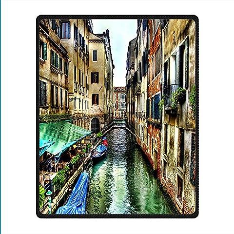 Coutume Venice non-tissé Couverture et Jeter Blanket and Throw pour