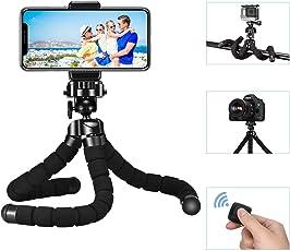 Kamera Ständer, Mpow Flexibel Handy Stativ Leichtes Dreibeinstativ Stativ Ständer Outdoor Handy Dreibein Halter mit Bluetooth Fernsteuerung Shutter für iPhone 7 7plus 6s 6s plus, Samsung, Huawei, Gopro Action Kamera usw.