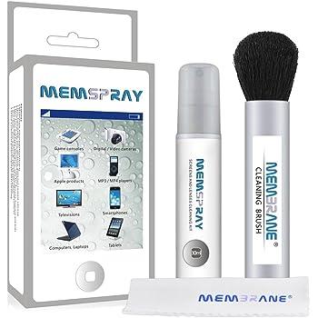Memspray - Naturale Kit di Pulizia Schermo per Fotocamera Sensore Reflex, TV, Lenti, Obiettivi, Cellulari e Occhiali - 30ml