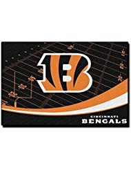 "NFL Cincinnati Bengals Extra Point Licensed Rug, 39"" x 59"", Orange by The Northwest Company"