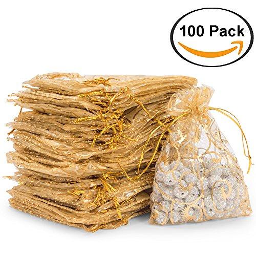 8ca3f43a9593 100 x sacchetti sacchettini riso portaconfetti bomboniere organza