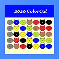 2020 USPS Carrier color coded Calendar