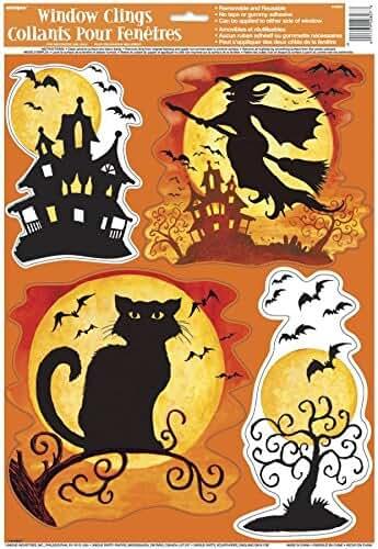 amazon.it: halloween - decorazioni per finestre / decorazioni per ... - Decorazioni Per Finestre Halloween