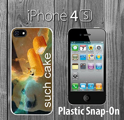 doge-twinkie-custom-made-case-cover-skin-for-iphone-4-4s-white-plastic-snap-on-case-ship-from-ca