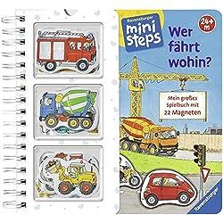 Wer fährt wohin?: Mein großes Spielbuch mit 22 Magnetteilen