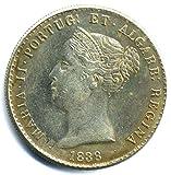 Münze Portugal 1838 - 1000 Reis - Maria II - Replica