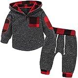 Borlai Baby Boy Girl Sudadera con Capucha Pantalones y Tops Conjuntos de Ropa Conjuntos de Regalos de Sudadera Encantadora de