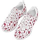chaqlin Mesh Sneakers Traspiranti Scarpe da Corsa Donna Uomo Leggero Casual Jogging Walking Scarpe