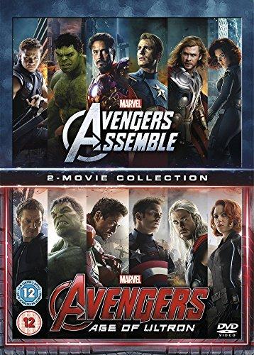 Avengers Age Of Ultron/Avengers Assemble Doublepack [DVD] [2015] by Robert Downey Jr