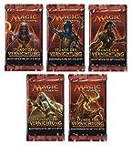 Magic the Gathering MTG Stunde der Vernichtung - 5x Booster Pack mit komplettem Motiv-Set - Deutsche Ausgabe