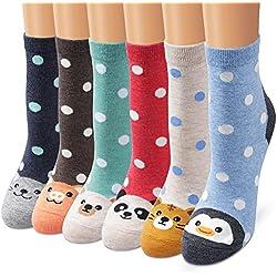 Ambielly calcetines de algodón calcetines térmicos Adulto Unisex Calcetines (706C)