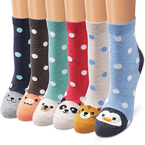 Ambielly Socken aus Baumwolle Thermal Socken Erwachsene Unisex Socken Frauen Socken Dame Socken Mädchen Socken Lässige Socken (706C)