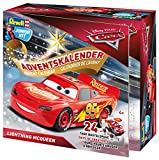 Revell Junior Kit 01016 - Adventskalender Lightning McQueen, Disney Cars 3 - 24 Tage cooler Bastelspaß, der Bausatz mit dem Schraubsystem für Kinder ab 4 Jahren, zum Bauen und Spielen