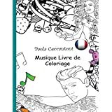 Musique Livre de Coloriage: Shakira, Eminem, Katy Perry, Rihanna, Justin Bieber.: Michael Jackson, Taylor Swift, Bob Marley, Beyonce, Lady Gaga
