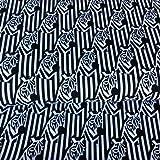 Zebra-Zebras-sev044-0,5Meterware-Stoff von