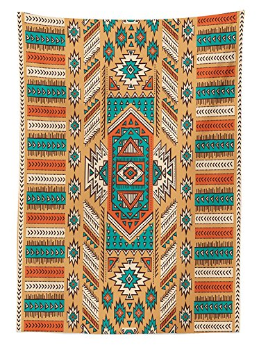 Yeuss Mantel Tribal Motivos étnicos, Azteca, Tribu Secreta en Estilo