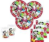 52 Teile Weihnachten Set Disney Micky und Minnie 16 Personen