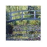 Le Blanc Duftkissen 'Le pont - C. Monet' 11 x 11 cm, Duft Pfingstrose, 3er Pack (3 x 8 g)