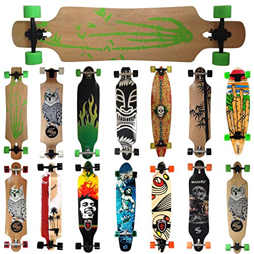 MAXOfit Deluxe Cruiser Longboard , 107 cm (Bamboo Race No.4)