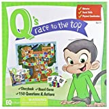 Qs Race to the Top Boardgame with Book