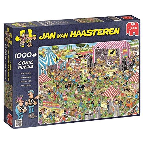 Jumbo - Puzzle Pop Festival, 1000 Piezas (619028)