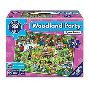 Orchard Partido de los Juguetes Rompecabezas Woodland