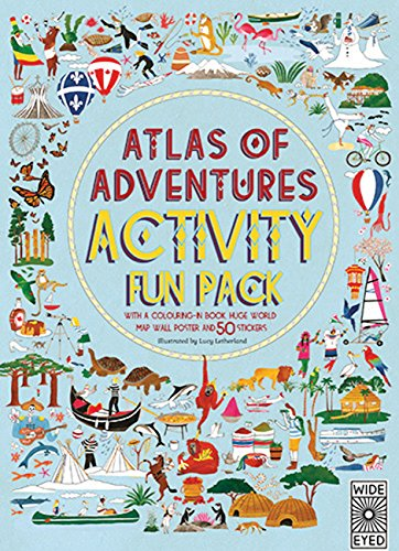 Atlas of Adventures Activity Fun Pack Cover Image