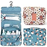 Lemish Toiletry Bag For Men & Women Hanging Toiletries Kit For Makeup, Cosmetic, Shaving, Travel Accessories Organizer...
