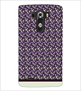 PrintDhaba Pattern D-1241 Back Case Cover for LG G3 (Multi-Coloured)