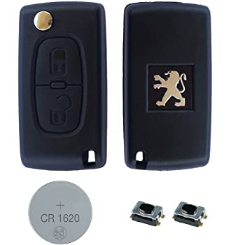 Cover Shell Key Fob Case Remote Control 2 Buttons for