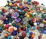 Perlen Glas Metall Holz 250g Bastlerbedarf MIX beraschungspaket NEU RESTPOSTEN