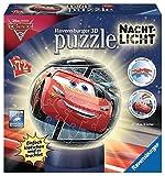 Ravensburger Erwachsenenpuzzle 11816 Disney Nachtlicht: Cars 3 3D-Puzzle