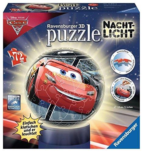 Ravensburger 11816 - Nachtlicht: Cars 3 3D-Puzzle