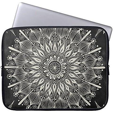 Electronics fundas neopreno portátil 160523–4 Vintage Mandala 13-13.8 inches