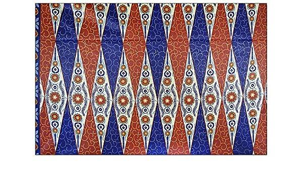 6 Meter Dashiki/Makenzi Wachs Print 100% Baumwolle afrikanischen ...