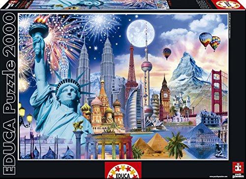 Educa 15538 2000 Monumenti nel Mondo