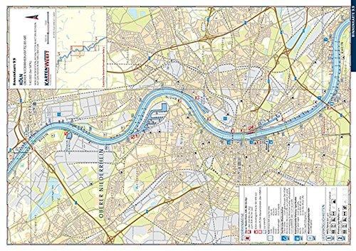 BinnenKarten 9.9 / 9.10: Köln / Porz bis Mondorf